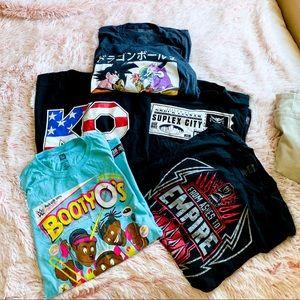 ✨ Bundle of Wrestling T-shirt's
